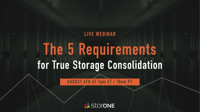 The 5 Requirements for True Storage Consolidation