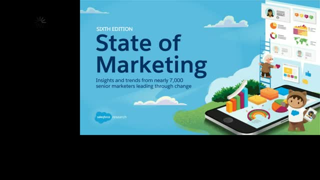 Salesforce's 6th Edition State of Marketing - Trends from Nearly 7,000 Marketing