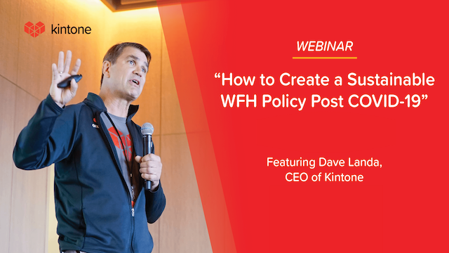 Learn How To Create a Sustainable WFH Policy Post COVID-19