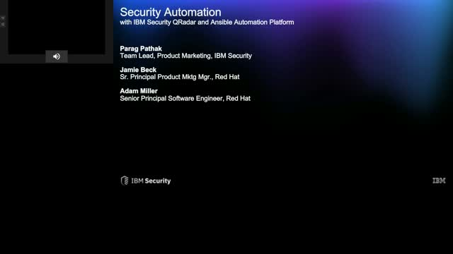 Security Automation: IBM Qradar and Ansible Automation Platform