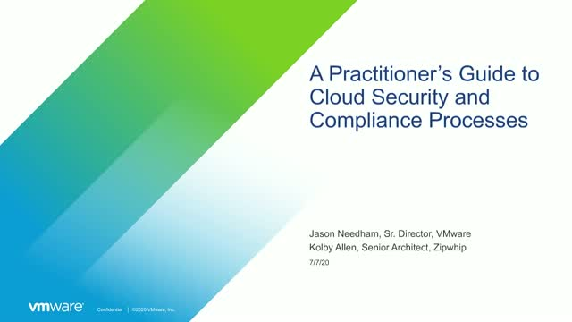 A Practitioner's Guide to Cloud Security and Compliance Processes