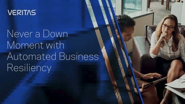 Never a Down Moment with Automated Business Resiliency