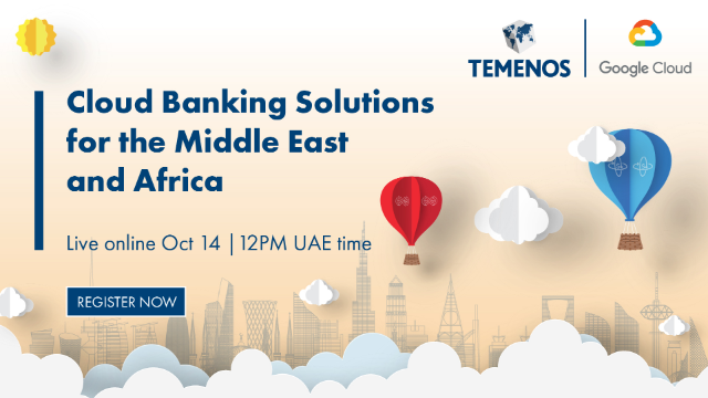 Cloud Banking Solutions for the Middle East and Africa webinar