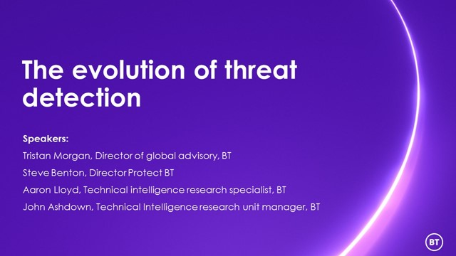 The evolution of threat detection