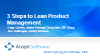 The Three Steps to Lean Product Management