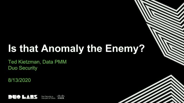 Is that Anomaly an Enemy? Understanding the Importance of Security Analytics