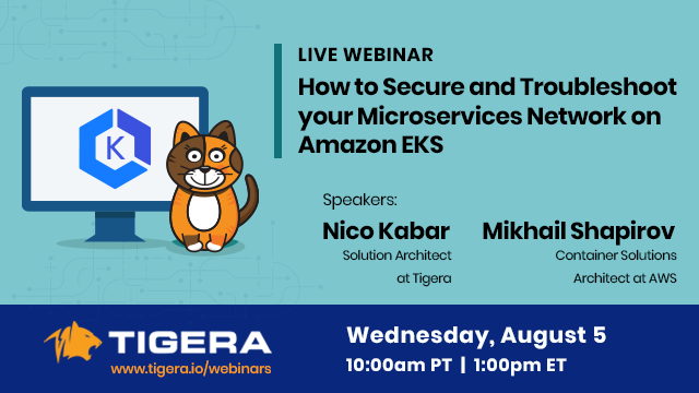 Secure and Troubleshoot your Microservices Network on Amazon EKS