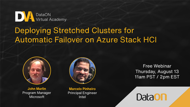 Deploying stretched clusters for automatic failover on Azure Stack HCI