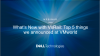 What's New with VxRail: Top 5 things we announced at VMworld