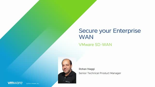Secure Your Enterprise WAN with VMware SD-WAN