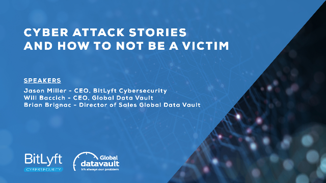 Cyber Attack Stories And How To Not Be A Victim