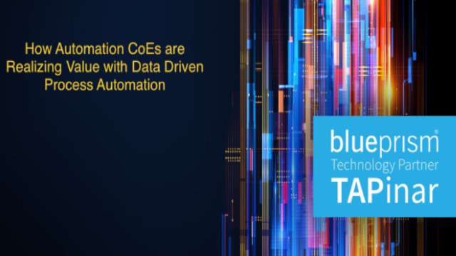 How Automation CoEs are Realizing Value with Data Driven Process Optimization