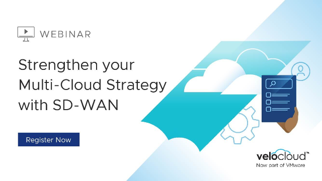Strengthen your Multicloud Strategy with SD-WAN
