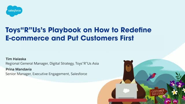 """Toys""""R""""Us's Playbook on Redefining E-commerce to Put Customers First"""
