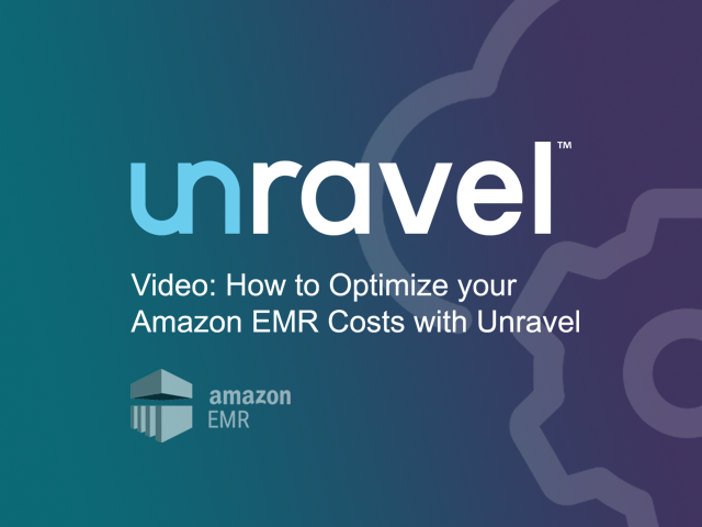 How to Optimize your Amazon EMR Costs