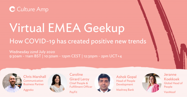 EMEA Geekup: How COVID-19 has created positive new trends