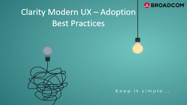 Clarity Modern UX – Adoption Best Practices