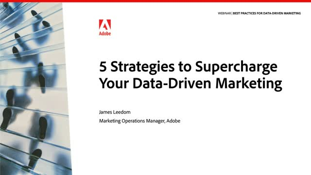 5 Strategies to Supercharge Your Data-Driven Marketing