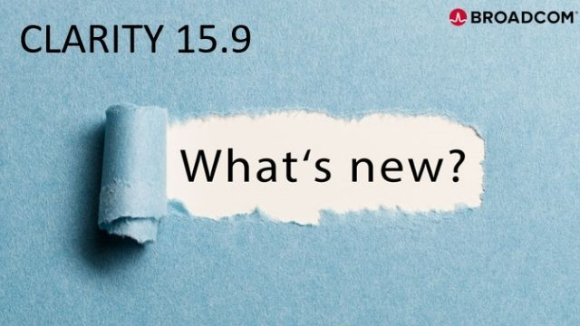 What's New in Clarity 15.9?