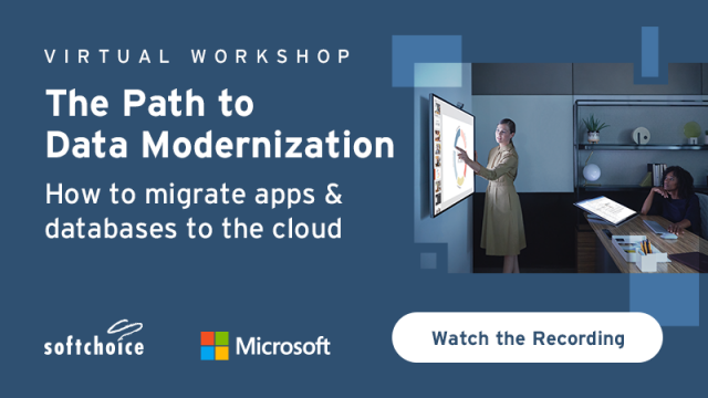 The Path to Data Modernization: How to migrate apps & databases to the cloud