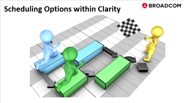 Scheduling Options within Clarity