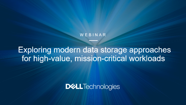 Exploring modern data storage approach for high-value mission-critical workloads