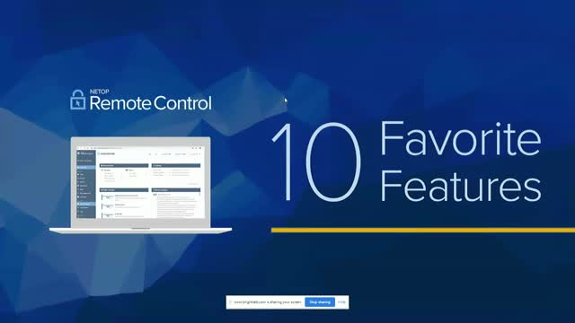 Live Demo: 10 Favorite Remote Access Features