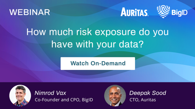 How Much Risk Exposure Do You Have With Your Data?