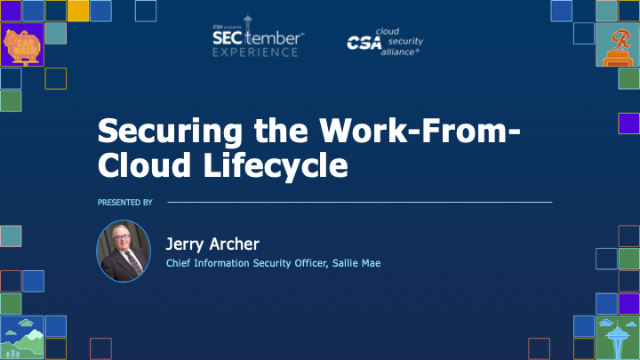 Securing the Work-From-Cloud Lifecycle