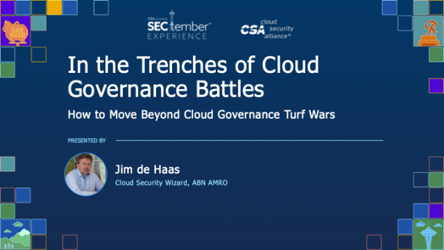 In the Trenches of Cloud Governance Battles