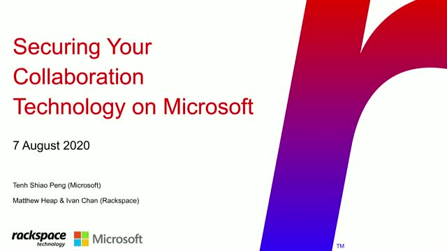 Securing Your Collaboration Technology On Microsoft