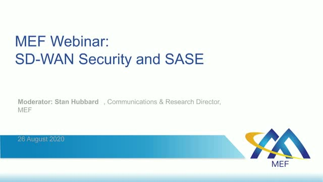 MEF and Layer123: SD-WAN Security & SASE