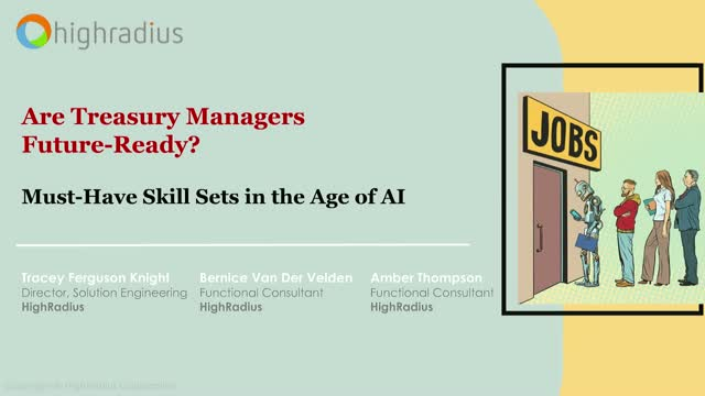 Are Treasury Managers Future-Ready? Must-Have Skill Sets in the Age of AI