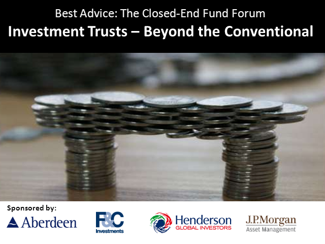 Investment Trusts – Beyond the Conventional