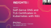 Self-Serve DNS and TLS Certificates in Kubernetes with NS1