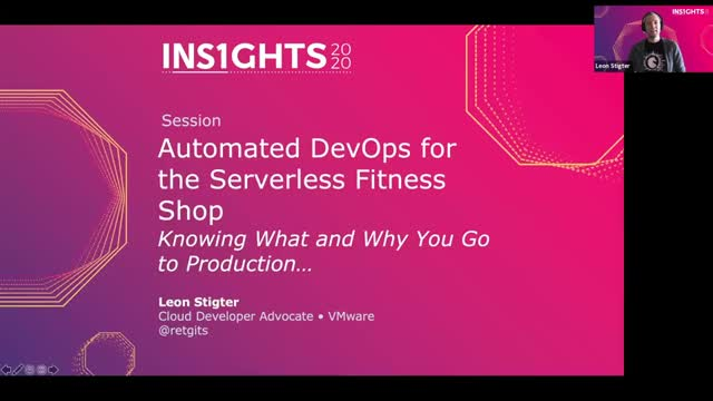Automated DevOps for the Serverless Fitness Shop