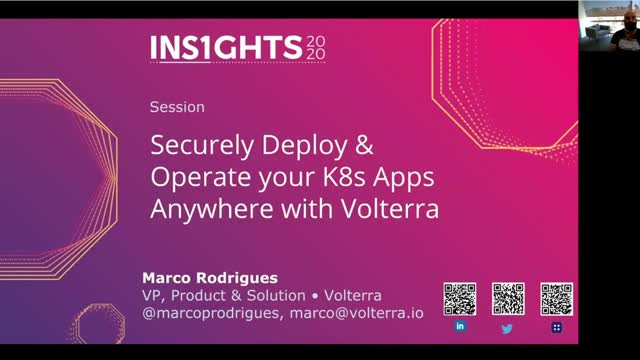 Securely Deploy & Operate Your K8s App Anywhere with Volterra