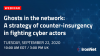 Ghosts in the network: A strategy of counter-insurgency in fighting cyber actors