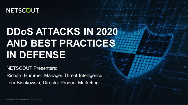 DDoS Attacks in 2020 & Best Practices in Defense