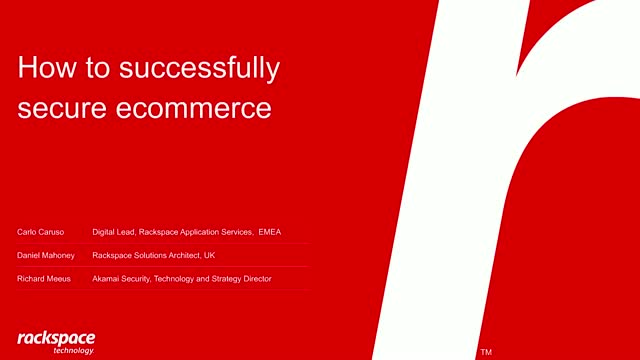 How to successfully secure ecommerce