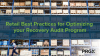 Retail Best Practices for Optimizing your Recovery Audit Program