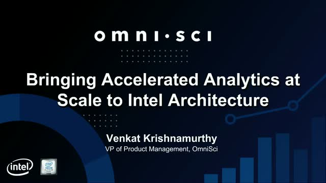 Bringing Accelerated Analytics at Scale to Intel Architecture