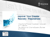 Improve Your Disaster Recovery Preparedness