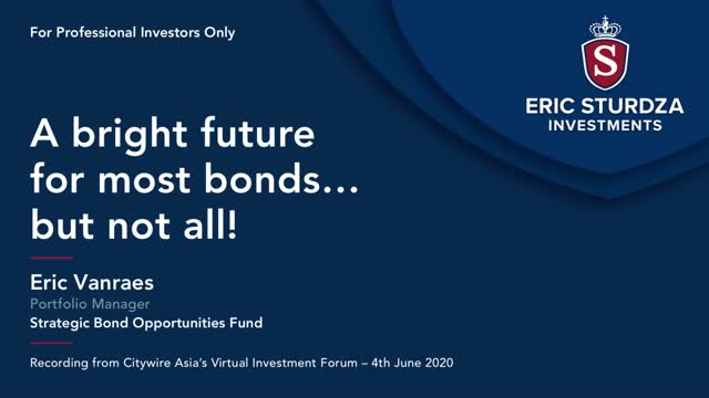 A bright future for most bonds... but not all!