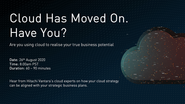Cloud Has Moved On. Have You?