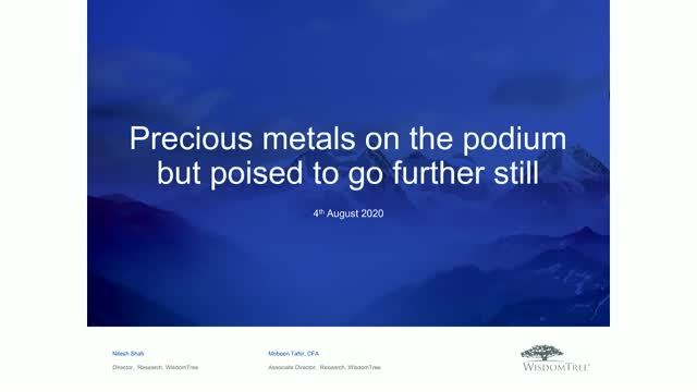 Precious metals on the podium but poised to go further still