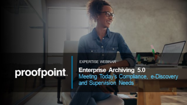 Archiving Innovations: Meeting today's Compliance and e-discovery needs
