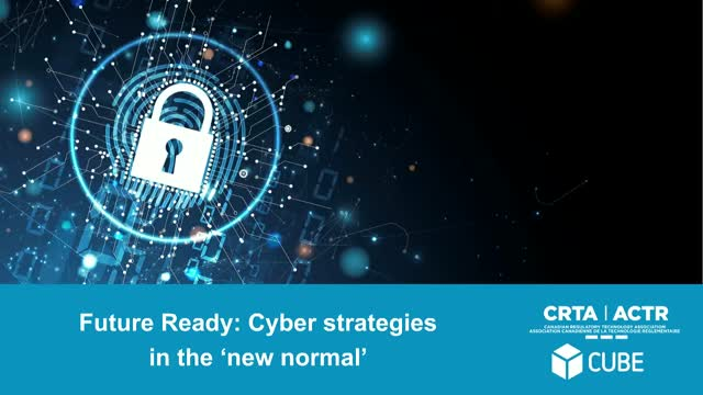 Future Ready: Cyber strategies in the new normal