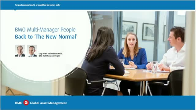 Multi Manager People: Back to 'The New Normal'