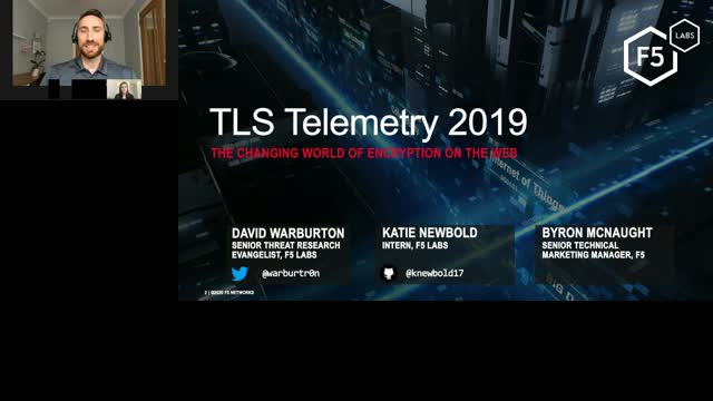F5 Labs 2019 TLS Telemetry Report: The Changing World of Encryption on the Web